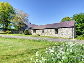 The Dairy is a lovely stone cottage converted from, unsurprisingly, an old dairy