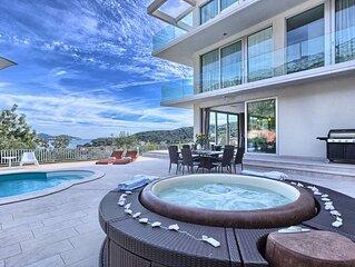 Villa La Mer, für 12 Pers. beheizter Pool, Whirlpool, Sauna, Internet, Strandnah