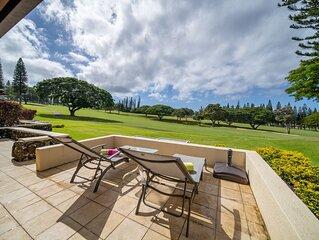 Kapalua Golf Villa Gold!  Designer Upgrades!