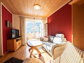 """Gemütliche Ferienwohnung """"Zirbe"""" am Fuße der Zugspitze mit tollem Ausblick und"""