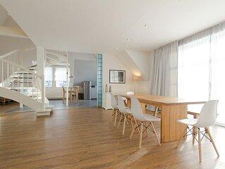Admiralskoje, luxuriöse Maisonette-Wohnung zentral und strandnah in Warnemünde