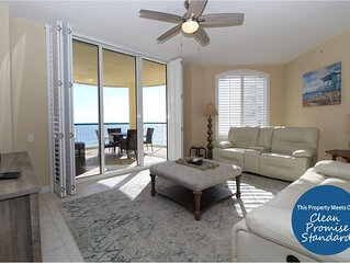 Beach Colony East 8C- Beach Front unit with large terrace & amazing views!