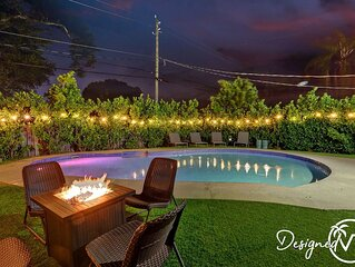 Private Pool Home with Lovely 4BR & 2 Bath �� ����������
