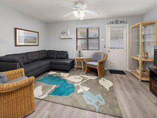 New Flooring! Central Location to the Pier, Village,and the best beaches!