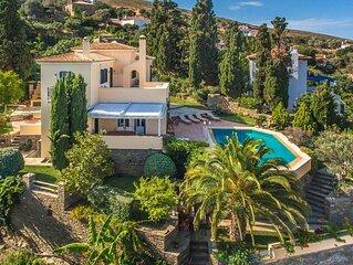 Hortensia Villa with Marvelous Multi-Level Garden