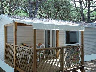 Ferienhaus - 6 Personen*, 32m² Wohnfläche, 2 Schlafzimmer, Internet/WIFI, Kabel
