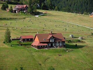 Ferienwohnung mit Aussicht auf die Berge