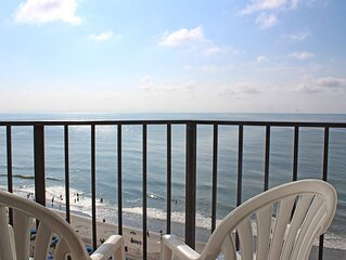 Come Over to the  11th-story Myrtle Beach Studio Condo!
