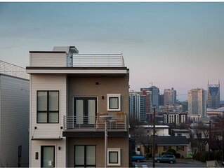 New home blocks from the Gulch w HUGE rooftop deck