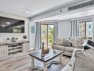 Newly remodeled condo w/ shared pool, hot tub & gas grill-walk to bay & beach