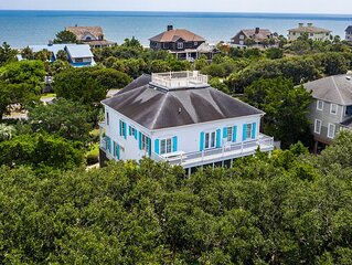 Beautiful Upscale Home Privately Located Steps from the Beach