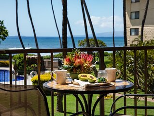 Maui Right On The Beach! Kitchen & Bathrooms remodelled. *Kanai A Nalu 212*