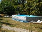 Swimming pool 9,5 mt.x4,5 mt.