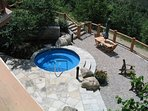 One of the 2 Four Season Hot Tubs