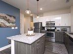 Fridge/Freezer, Oven/Stove, Microwave, Dishwasher, Toaster, Coffee maker