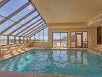 2nd view of indoor pool.