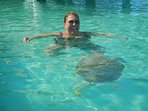 Swim with the turtles in Hoopers Bay