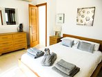 The Master Suite With Double Bed, Flat Screen TV, En-Suite Bathroom And Access To The Sun Terrace
