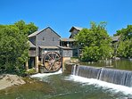 Be sure to visit the Old Mill in downtown Pigeon Forge. Good restaurant plus shops & more