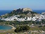 Acropolis and Lindos Village