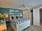 Master bedroom with  EnSuite Summer look