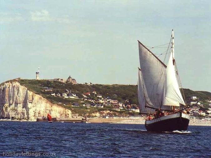 the Cap Fagnet and Côte de la Vierge