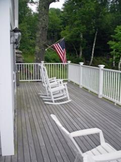 view of lower deck