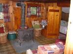 Woodstove in Livingroom