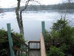 Deck Overlooking George's Pond