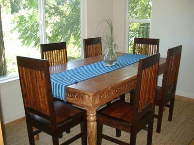 Dock Calm, Dining Area with Russian River Views