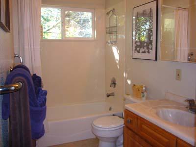 Dock Calm, Upstairs Full Bathroom, Downstairs 1/2 Bath