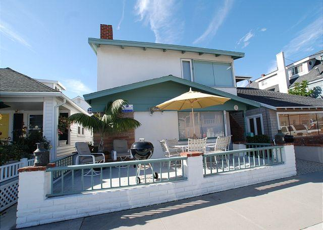 Single family home next to the bay, and just a short walk from the beach.