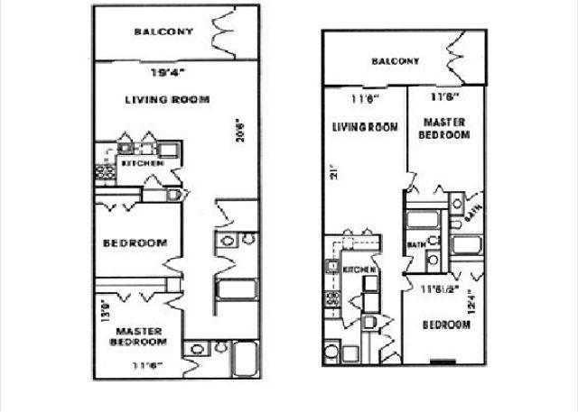 Gulf Tower Floor Plans