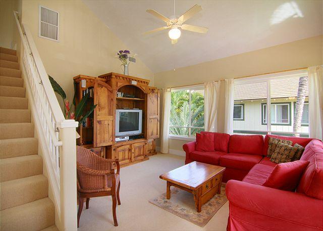 Executive Suite 3 bed/3 bath spacious condo with central A/C!, location de vacances à Kauai