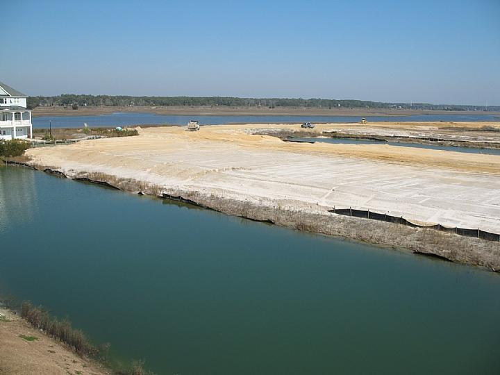 view of waterway as of 2-8-07