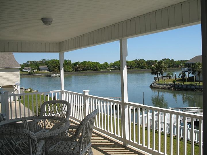 view from deck