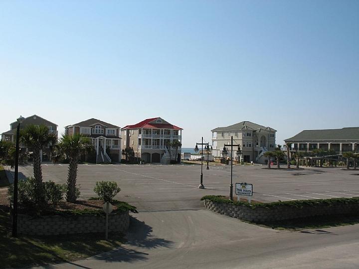 vista do convés em direção ao oceano - The Isles Restaurant