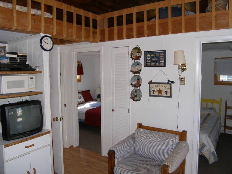 Vista desde la sala de estar limitados a 2 dormitorios