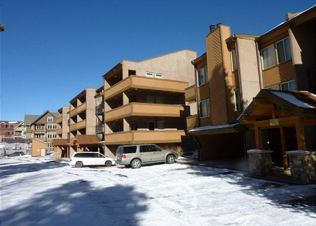 The Lift Exterior Breckenridge Lodging and Condo Rentals
