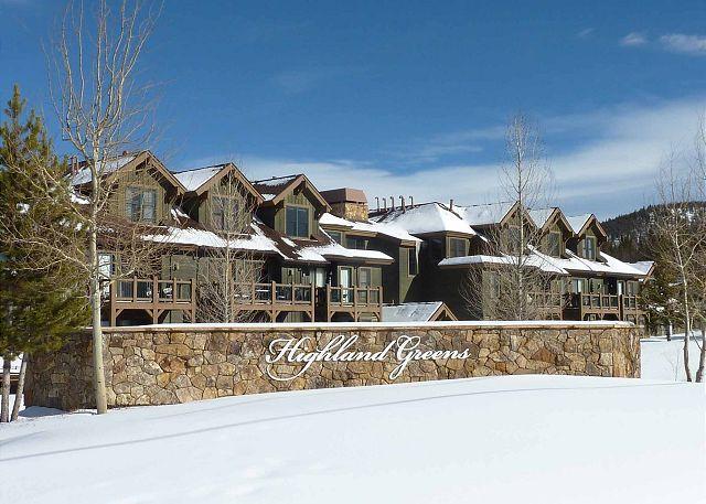 Loge au complexe Highland Greens en hiver, hébergement à Breckenridge