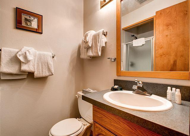 Peak 8 Village Hallway Bath Breckenridge Lodging