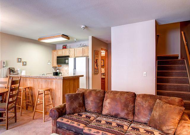 River Mountain Lodge Living Room Breckenridge Lodging