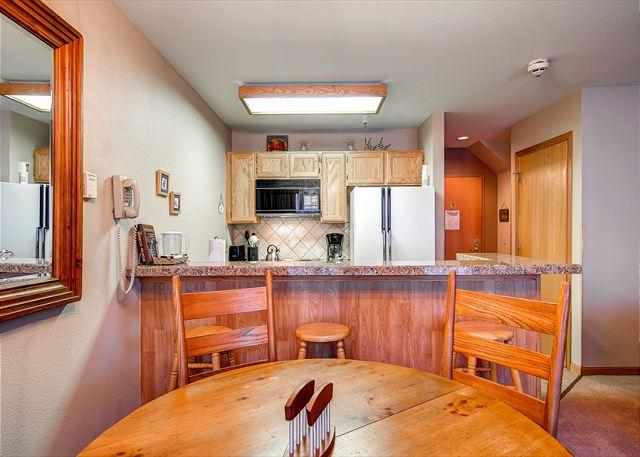 River Mountain Lodge Kitchen Breckenridge Lodging