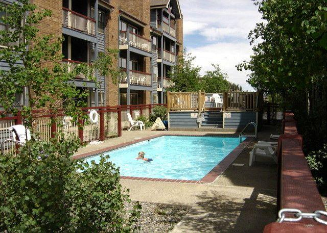 River Mountain Lodge Outdoor Swimming Pool Breckenridge Lodging