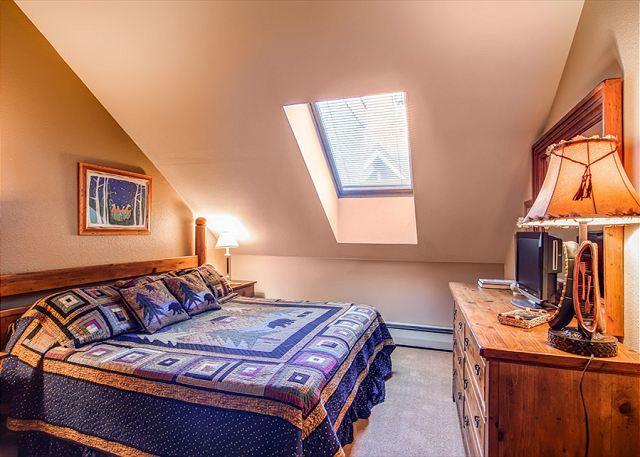River Mountain Lodge Master King Bedroom Breckenridge Lodging