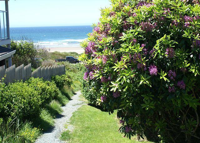 Beach House Path to Manzanita Beach