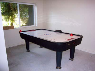 La Rive Gauche, Downstairs Rec Room with Air Hockey