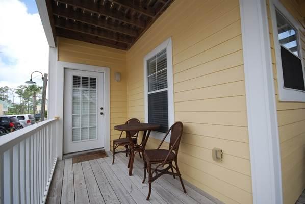 Bench, Deck, Veranda, Gebäude, Möbel