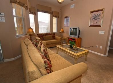 Enjoy Complimentary Cable TV in the Living Room