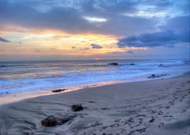 Puesta del sol - Playa Langosta